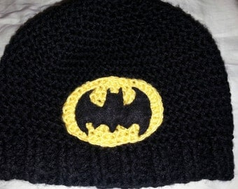 Teen-Adult Bat-hat Beanie