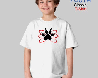 Carl Halloween Costume or Cosplay - Atomic Paw - Zombie - T-Shirt - Boys - Youth