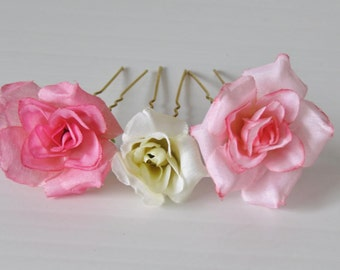 Floral Hairpins (3pcs)