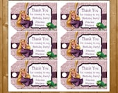 Tangled Favor Tags Rapunzel Birthday Party Favor Tags Disney Princess Rapunzel Favor Tags Instant Download
