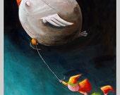 Hang On Tight! - Fun Print