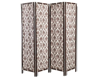 Room divider - Wooden folding screen