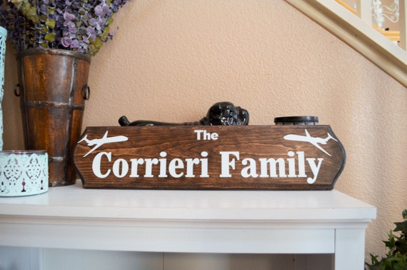 Occupation Themed Family Wood Sign Home Decor By