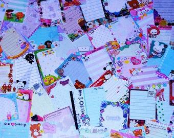 60 Kawaii Mini / Small Memos Sheets from Japan / Japanese Stationery + 15 Bonus Sheets!