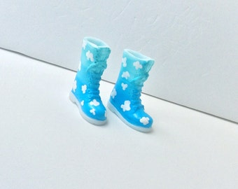 Blythe Boots - Handmade - Cloudy Day