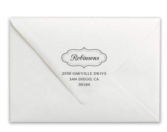 Custom Self-Inking Stamp - Personalized Stamp - Name Stamp - Address Stamp - Robinsons Address Stamp