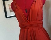 Convertible Dress with Built in Bandeau -- Bridesmaid, Wedding, Maternity, Plus Size