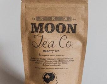 Memory Tea - Organic Loose Leaf Herbal Tea