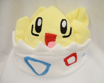 Pokemon Togepi Fleece Hat Plush Cosplay Costume