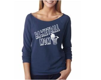 basketball mom shirt/ basketball shirt for mom