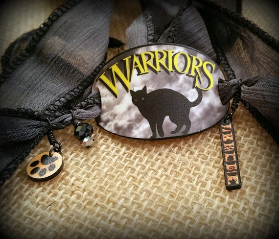 Warriors Dawn Of The Clans Characters: Warrior Cats Bracelet Wrap Bracelet Warrior Cats Jewelry