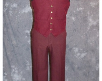 Ron Burgundy / Anchorman / 1970's / News Team 4 / Will Ferrell Costume-Small-Medium (A103)