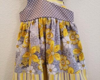 reverse knot dress