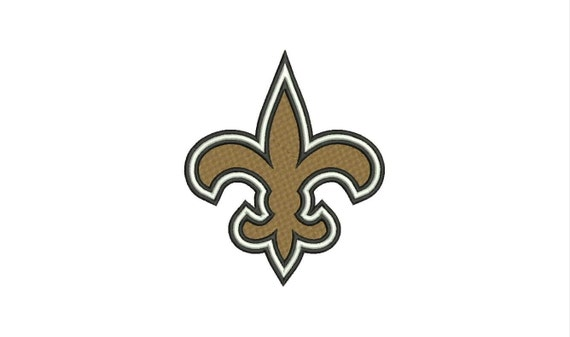 New Orleans Saints Logo Machine Embroidery Designs By