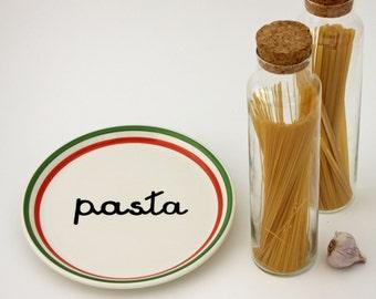 Pasta plates - Italy