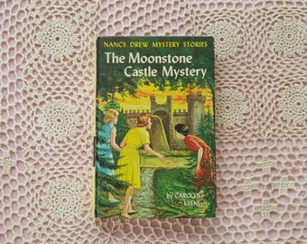 Nancy Drew Mystery Novel #40 The Moonstone Castle Mystery by Carolyn Keene