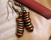 Autumn Glass Earrings
