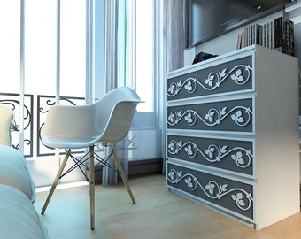 fretwork furniture. vines appliques fretwork panel refurbish furniture decor hardware h