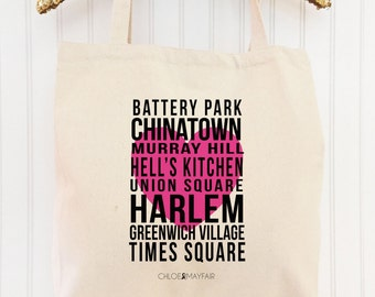 "The ""Heart of the City"" NYC Tote Bag-Fun & Fabulous Tote Bags and Gifts"