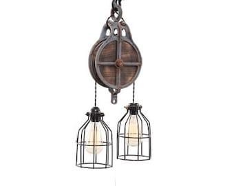 etsy industrial lighting. lighting industrial steampunk light bar chandelier etsy k