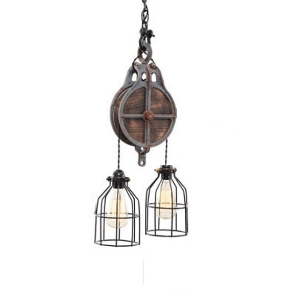 Rustic Industrial Light Steel And Barn Wood Vanity Light: Lighting Industrial Lighting Steampunk Lighting