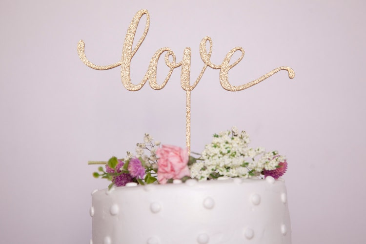 gold h wedding cake topper wedding cake topper glitter gold by haymadeshop on etsy 14786