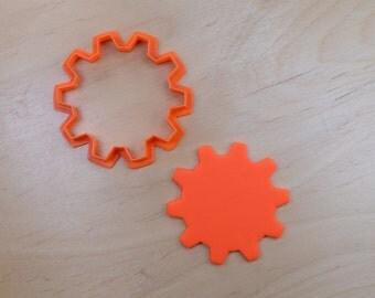 Gear #4 Cookie Cutter