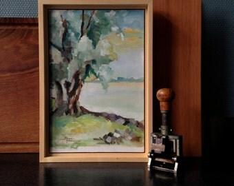 Oil-painting Nieuwe-Merwede