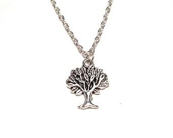Tree of Life Necklace, Tree of Life Charm, Tree of Life Pendant, Tree of Life Jewelry, Tree Necklace, Tree Charm, Tree Pendant, Tree Jewelry