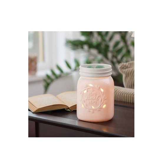 Rustic Home Decor Wax Melter Candle Warmer Mason Jar