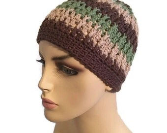 Crochet Chemo Caps Cotton Hats Made to order