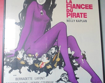 Displays old film bride of the 1969 Pirate