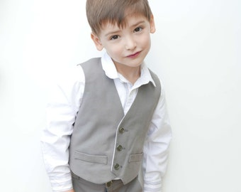 Little Boy Vest Pattern elegant and formal fitted, Boys Suit Pattern, Toddler Vest, Kids Vests Pattern, Baby Vest Pattern