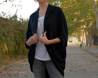 Jersey Cardigan, wrap, shawl, poncho