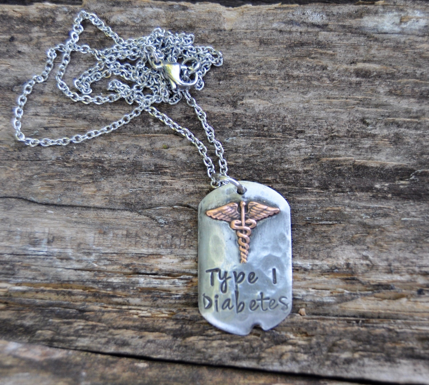 Medic Alert Necklace: Medical Alert Necklace. Medical ID Necklace For Woman Or Girl
