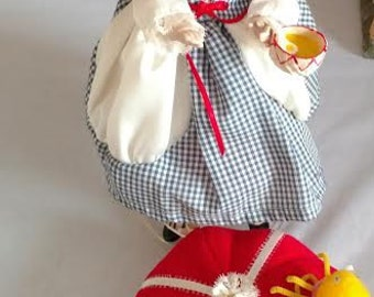 """Danbury Mint The Story Book Doll Collection """"Little Miss Muffet"""" 11"""" Doll w/COA"""