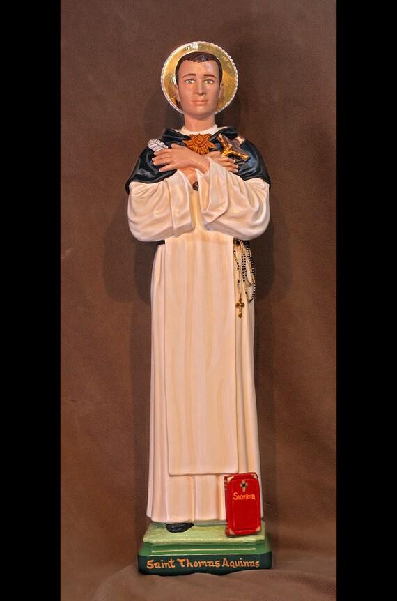 """St. Thomas Aquinas 26"""" Christian Catholic Religious Statue"""