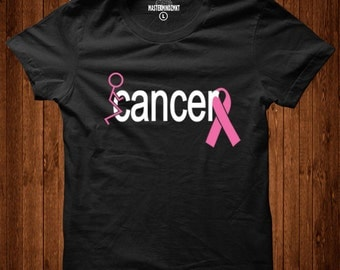 Screw Breast Cancer T'Shirt, Breast Cancer Awareness, Survivor Tshirts, Breast Cancer Survivor, Breast Cancer Gift, Cancer Fighter shirts