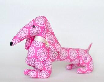 Cotton Dachshund Stuffed Animal/ Dachshund Safety Stuffed Toy/ Stuffed Animal and Plushies/Cotton Dachshund for Kids