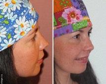 SEWING PATTERN Scrub Hats  2 Scrub Caps Sewing Pattern  Surgical Hat Pattern  Chemo Hat  Patterns  Women Men Bike Bandana Scrub Hat Pattern