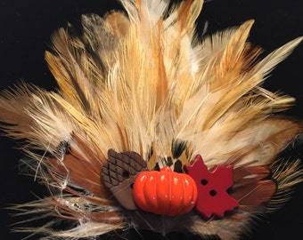 Fall Harvest Fascinator
