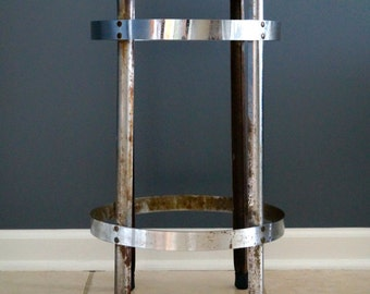 1920's Chrome Stool