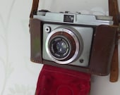 Vintage Camera Dacora Dignette (Original) 1955 35mm Film Viewfinder Camera Leather Case