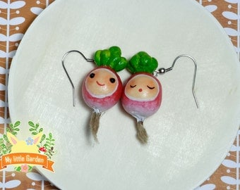 Mary and Lily radishes