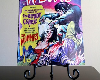 Weird Comic Book Aug 1972 Vol. 6 No. 5