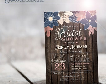 Bridal Shower Invitation - Printable DIGITAL FILE