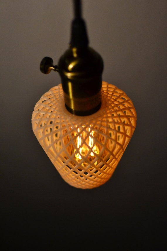 Plug In Pendant Light 3D Printed Ceiling Light Ideal By Lumagon