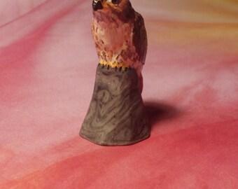 Red-tailed Hawk Miniature Figurine