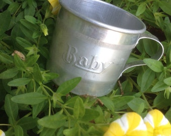 """Small Tin Cup, """"Baby"""""""