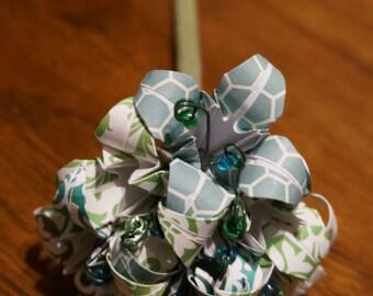 Small customizable origami bouquet - half dozen